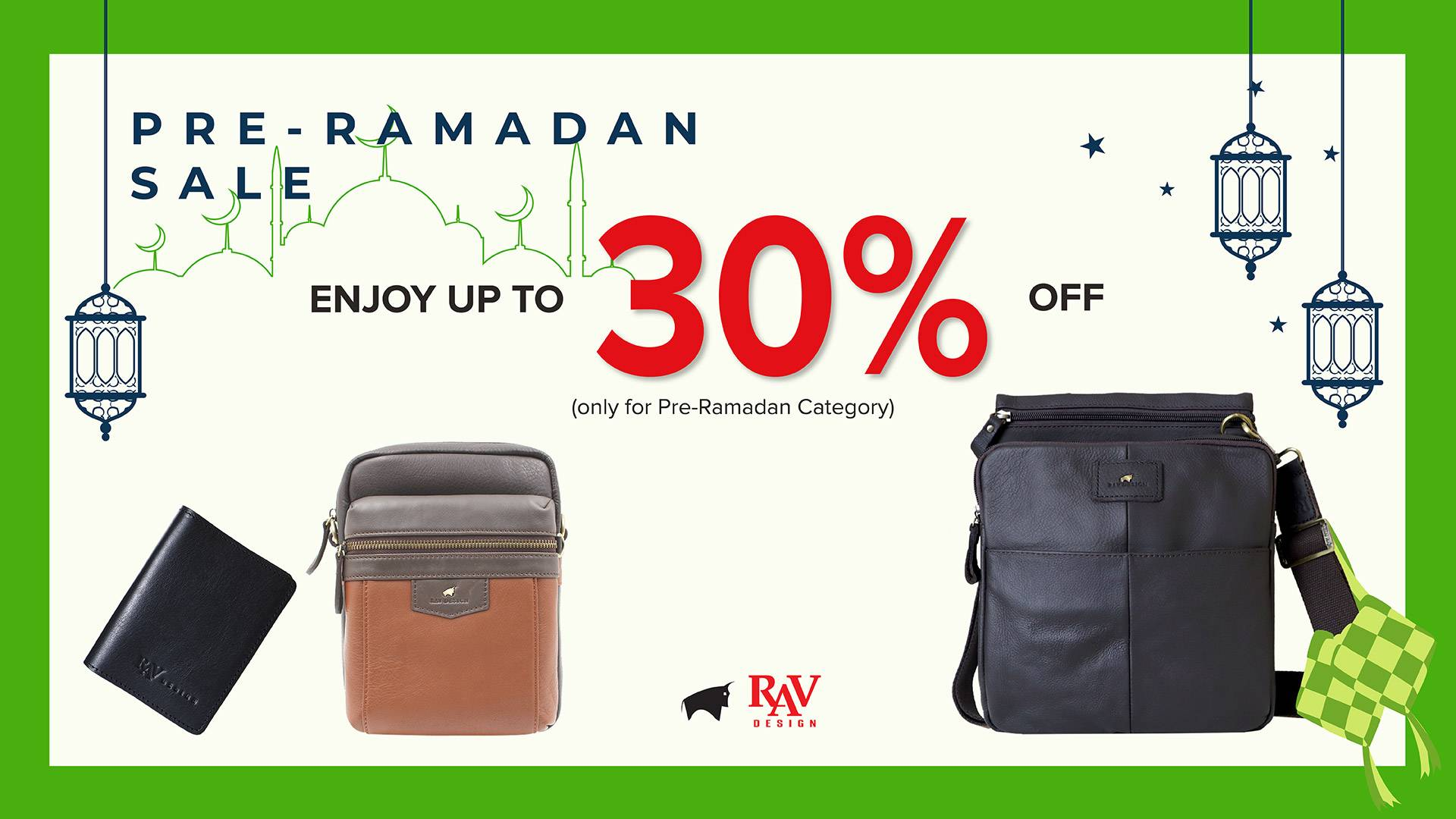 Clearance stock 30%
