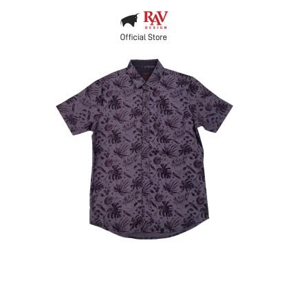 Rav Design 100% Cotton Woven Shirt Short Sleeve |RSS29613281
