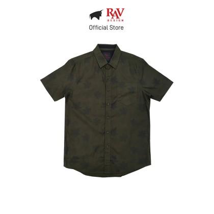 Rav Design 100% Cotton Woven Shirt Short Sleeve  RSS29623281