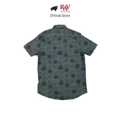 Rav Design 100% Cotton Woven Shirt Short Sleeve  RSS29623282