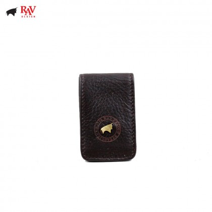 RAV DESIGN 100% LEATHER MEN MONEY CLIPPER |RVM553G1