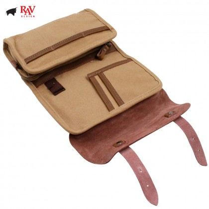 RAV DESIGN MEN CANVAS POUCH FABRIC |RVP417C0