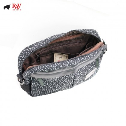 RAV DESIGN MEN CANVAS SLING WAIST CHEST BAG COLLECTION 2018 |RVC414C1