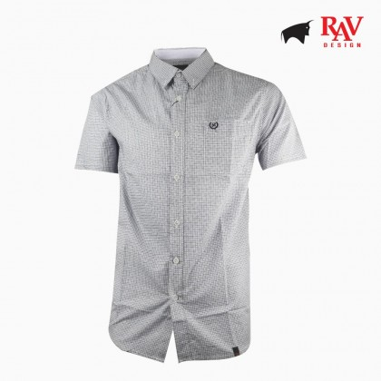 Rav Design Men's Business Regular Fit Shirt |RSS29361