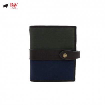 RAV DESIGN CANVAS MEN SHORT WALLET |RVW561G1