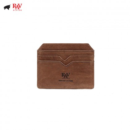 RAV DESIGN 100% LEATHER CARD HOLDER |RVH442G3