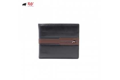 RAV DESIGN 100% LEATHER MEN SHORT WALLET |RVW585G1(A)