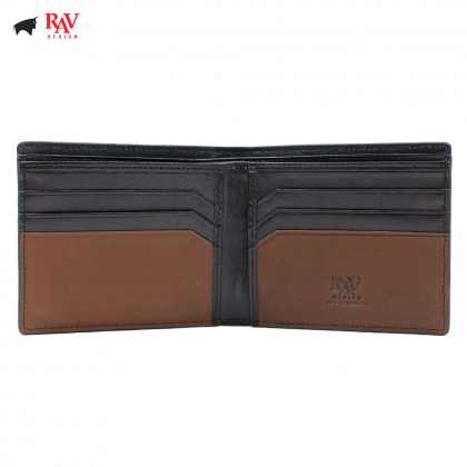 RAV DESIGN MEN SHORT WALLET WITH DETACHABLE CAR HOLDER |RVW586G1(A)