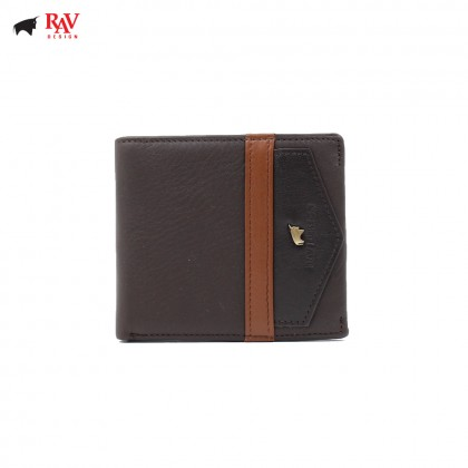 RAV DESIGN MEN ANTI-RFID SHORT WALLET |RVW560G1(B)