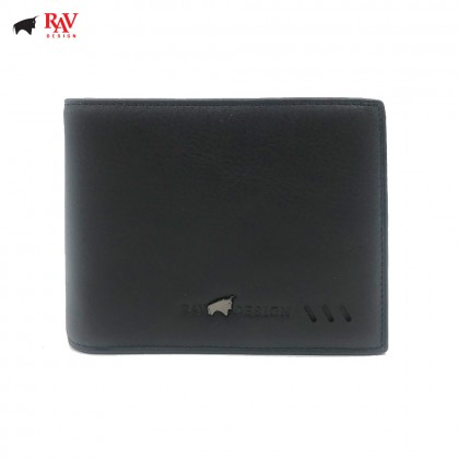 RAV DESIGN Leather Men Anti-RFID Money Clipper|RVW589G3