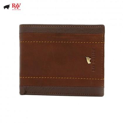 RAV DESIGN Leather Men Short Wallet |RVW578G1