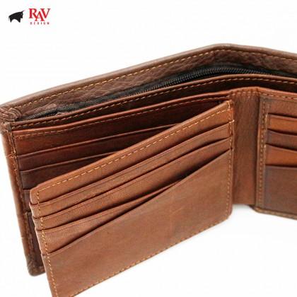 RAV DESIGN Leather Men Short Wallet  RVW578G1