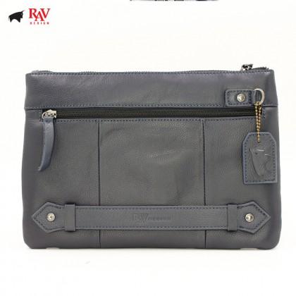 RAV DESIGN Leather Men Anti-RFID Clutch with Key Holder  RVC439G1
