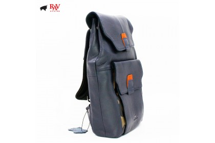 RAV DESIGN Leather Men Cross Body Casual Bag |RVC439G3