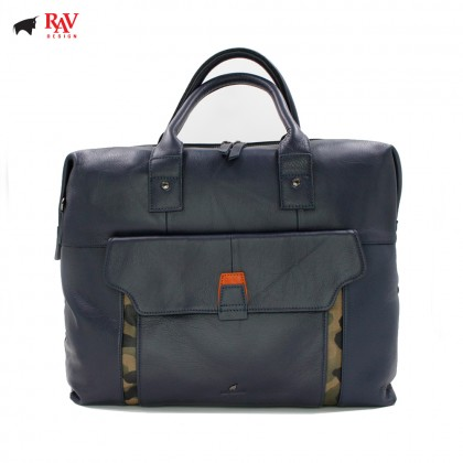 RAV DESIGN Leather Men Messenger Document Sling Bag |RVC439G4