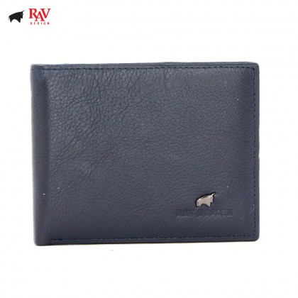 RAV DESIGN Leather Men Anti-RFID Short Wallet |RVW559G1(A)