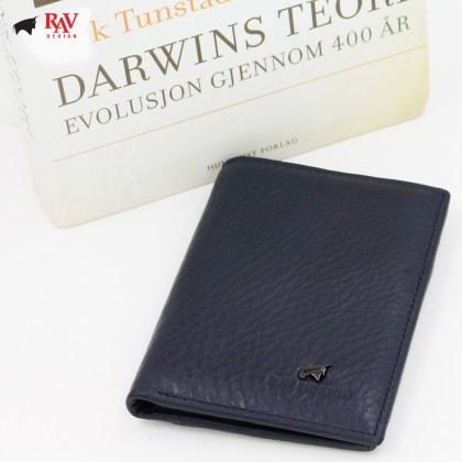 RAV DESIGN Leather Men Anti-RFID Short Wallet |RVW559G1(B)