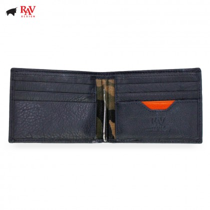 RAV DESIGN Leather Men Anti-RFID Money Clipper |RVW559G1(D)