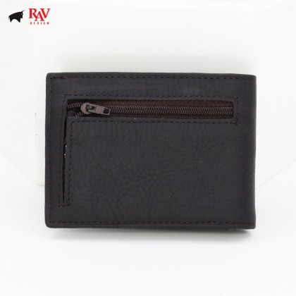 RAV DESIGN Leather Men Anti-RFID Money Clipper |RVM598G1