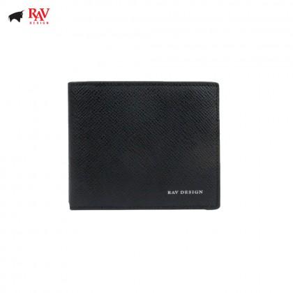 Rav Design Men Anti-RFID Leather Short Wallet Premium Edition |RVW611L1(A)
