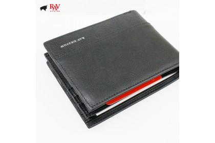 Rav Design Men Anti-RFID Leather Short Wallet Premium Edition  RVW610G1(A)