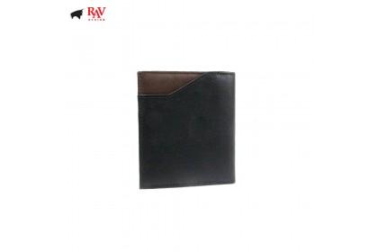 Rav Design Men Anti-RFID Leather Short Wallet Premium Edition Brown  RVW609G1(C)