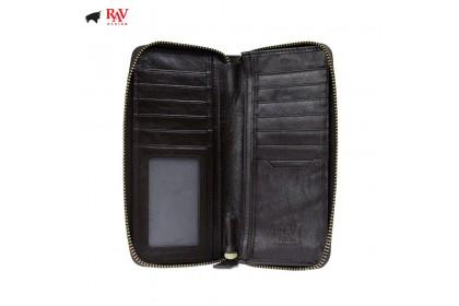 Rav Design Men Genuine Cow Leather Short Wallet  RVW628 SERIES
