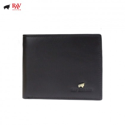 Rav Design Men Genuine Leather Short Wallet Series |RVW627G1