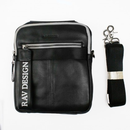 RAV DESIGN Leather Sling Bag with Detachable Strap |RVC455G1