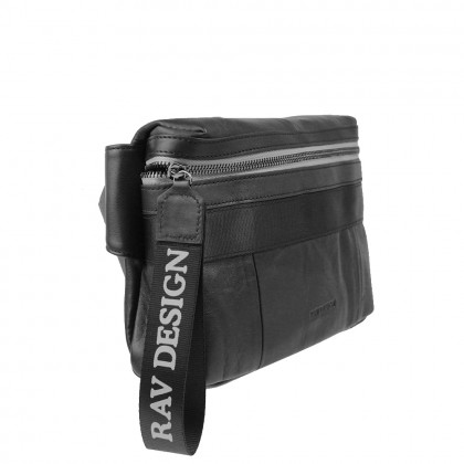 RAV DESIGN Leather Adjustable Belt Bag |RVC455G2