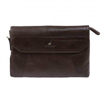 RAV DESIGN Leather Clutch |RVS459G1