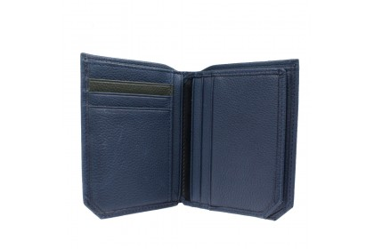 RAV DESIGN Leather Anti-RFID Vertical Wallet |RVW641G1(B)