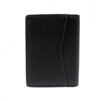 RAV DESIGN Leather Anti-RFID Bi-Fold Card Holder |RVW638G2(B)