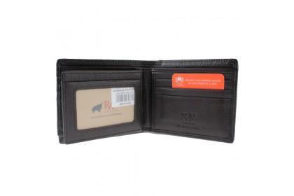 RAV DESIGN Leather Anti-RFID Short Wallet |RVW620G1(A)