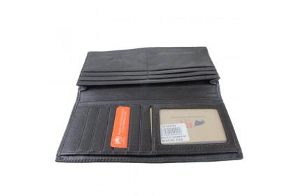 RAV DESIGN Leather Anti-RFID Long Wallet |RVW620G2(B)