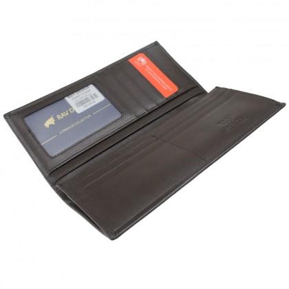 RAV DESIGN Genuine Leather Men Anti-RFID Premium Wallet |RVW647G1 Series