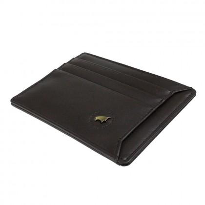 RAV DESIGN Men's Genuine Leather Anti-RFID Card Holder |RVW647G3(D)