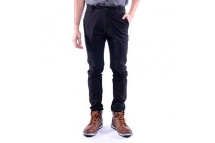 Rav Design Men's Long Pant Slim Fit Chino Black RLP29822591