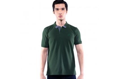 Rav Design Men's Short Sleeve Polo T-Shirt Shirt Green |RCT30782091