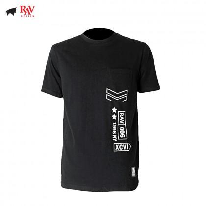 Rav Design 100% Cotton Short Sleeve T-Shirt Shirt |RRT3095209