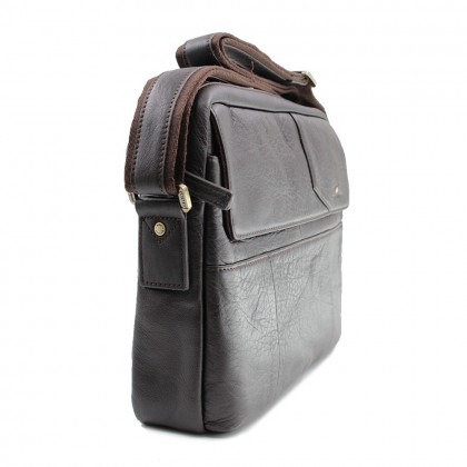 RAV DESIGN Men's Sling Bag Genuine Leather |RVC471G2