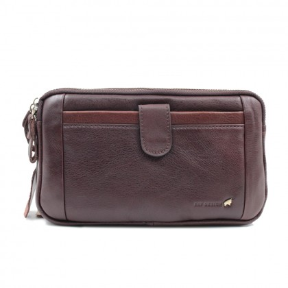RAV DESIGN 's Men Clutch Genuine Leather |RVS467G1