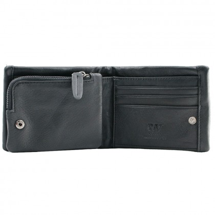 RAV DESIGN 's Men Wallet With Detachable Coin Pouch Genuine Leather |RVW653G1