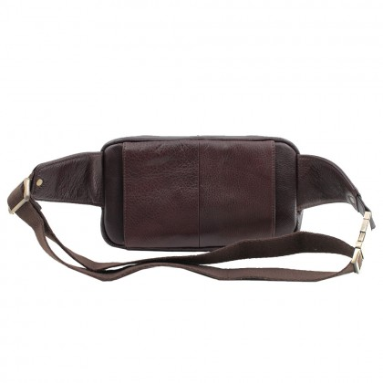 RAV DESIGN 's Men 2 Way Waist Bag Genuine Leather |RVY473G2