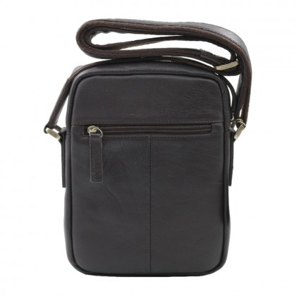 RAV DESIGN Men's Genuine Leather Sling Bag |RVC472G1