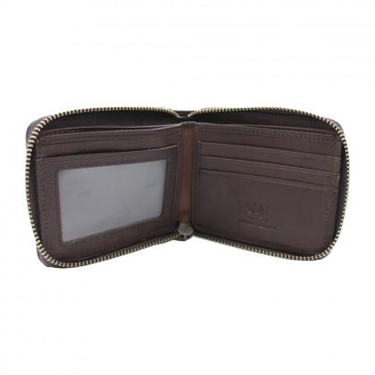 RAV DESIGN Men's Genuine Leather Short Wallet  RVW663 Series