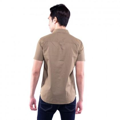 Rav Design 100% Cotton Woven Shirt Short Sleeve |RSS31142001