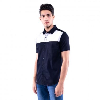 Rav Design 100% Cotton Woven Shirt Short Sleeve |RSS31142002