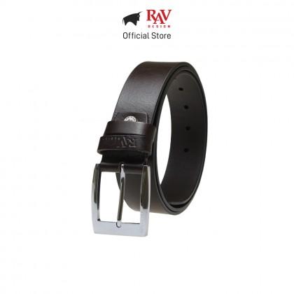 RAV DESIGN Men's 100% Genuine Cow Leather 40MM Pin Buckle Belt Brown |RVB560G1