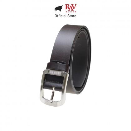 RAV DESIGN Men's 100% Genuine Cow Leather 40MM Pin Buckle Belt Brown |RVB566G1